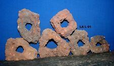 5kg Paket Lavagestein Grottenlava Lava Steine mit Mittelloch Aquarium Terrarium