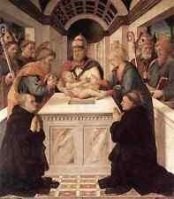 Lippi Fra Filippo Circumcision A4 Print
