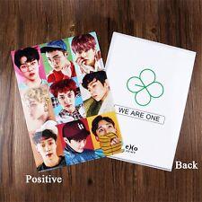 KPOP EXO WE ARE ONE The EXO'rDIUM Plastic File Document Folder Holder CHANYEOL
