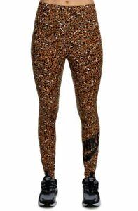 NWT $45 NIKE High Waist Animal Print Deset Legging Pants Women's XS CD4132 754