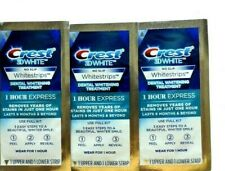 Crest 1 Hour Express 3D Teeth Whitening Strips Kit - 3 pouches/6 strips