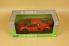 1/18 Welly Lamborghini Aventador LP700-4 orange color + gift
