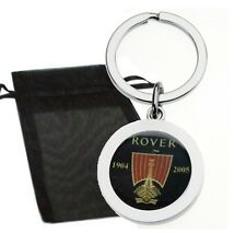 Rover Car Longship Logo Metal Keyring With Gift Bag High Quality Construction