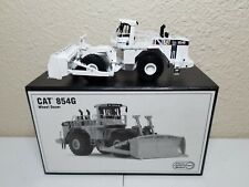 Caterpillar Cat 854G Wheeled Dozer - White - CCM Brass 1:87 Scale Model New!