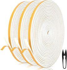 RATEL Mousse Bande de Joint D'étanchéité en 12mm*3mm*18m / blanc