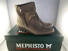 Mephisto Seddy Pewter Greta Handmade Soft-Air Women's Boots Size 9.5 New In Box