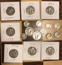 Lot Of 17 Old Silver Coins