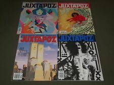 2002-2015 JUXTAPOZ MAGAZINE LOT OF 4 ISSUES - ART & CULTURE - PB 1413