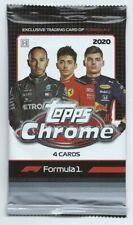 1 - 2020 Topps Chrome Formula 1 F1 Racing Hobby Pack - 4 Cards per Pack 📈
