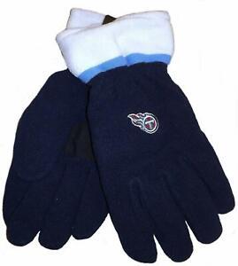 Reebok Tennessee Titans Fleece Winter Gloves - Men's Size Large - NWT