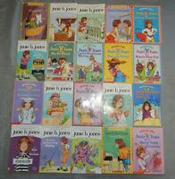 20 junie b jones kids chapter books paperback BULK LOT barbara park pb