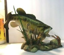 Danbury Mint Fish Sculpture George Kruth Freshwater Trophies Sudden Strike