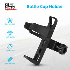 Bottle Cup Holder Drink Beverage Mount For ATV Motorcycle Bicycle Bike Scooter