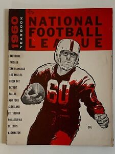 1960 National Football League NFL Yearbook