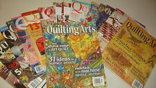 QUILTING Lot 16 Magazines Quilting Arts B H & G American Patchwork  Fons Porter