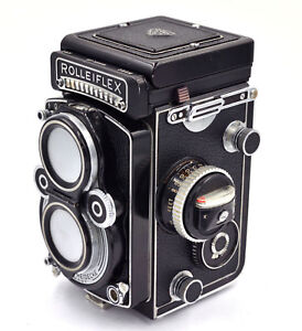 Rolleiflex 3.5 F - Replacement Leather Cover - Laser Cut
