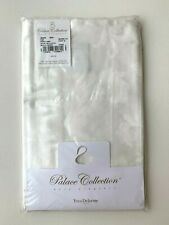 Yves Delorme Swan Satin King Pillow Case Sham in Milk Size 21 x 37 in - NEW