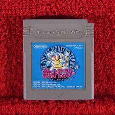 POKEMON BLUE Pocket Monsters - Nintendo Game Boy ~ Japanese !! Genuine JAPAN