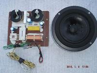 "JBL  LX44   CROSSOVER   &   5""   MIDRANGE  DRIVER"