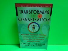 TRANSFORMING THE ORGANIZATION CORPORATE MANAGEMENT HELP PAPERBACK BOOK USED