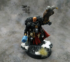Warhammer 40k Grey Knights Inquisitor Coteaz M-1 pro-painted