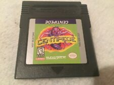 Nintendo Game Boy Centipede Gbc Color Genuine Authentic Free Shippng !