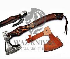 Beautiful Custom Hand FORGED D2 Steel Tomahawk Axe Throwing Viking Hunting BATLE