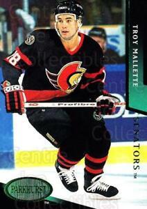 1993-94 Parkhurst Emerald #413 Troy Mallette