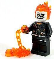 LEGO SPIDER-MAN SHIELD GHOST RIDER GHOSTRIDER MINIFIGURE 76058 - SUPERHEROES