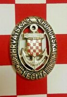 WW2 CROATIAN NAVAL LEGION QUALIFICATION BADGE - MEDAL GERMAN KRIEGSMARINE