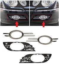 Neu Mercedes Benz MB E W211 06-09 Vordere Stoßstange Nebelscheinwerfer Chrom