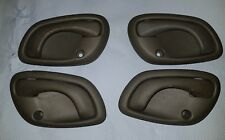 SET OF 4 VAUXHALL AGILA INTERNAL DOOR HANDLES. FROM 51 PLATE.