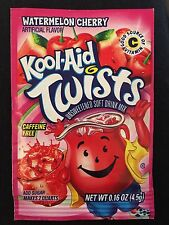 1 Watermelon Cherry Twists Rare Kool-Aid Collectible Expired 2014 Collectible