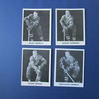 MONTREAL CANADIENS 1965-66 Coke (14 different) Lorne Worsley J.C Tremblay Hodge