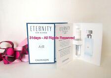 NEW 5 X Calvin Klein ETERNITY AIR For Women Eau de Parfum Perfume Sample 1.2 ml