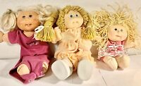 Cabbage Patch Kids Lot Of 3 Vintage, 1st, 2nd & 3rd Generations!!