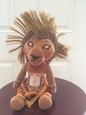 "Disney Lion King Broadway Musical SIMBA Bean Bag Plush 11"" African Tribal"