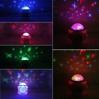 Musik Wecker LED Digital Wecker Kinder mit Sternenhimmel Nachtlicht Farbwechsel