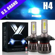 H4 9003 Led Headlight Kit High Low Cree 2 Bulbs Fanless 800W 120000Lm 8000K Blue
