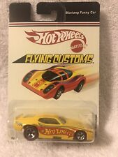 Hot Wheels Flying Customs 2006- Ford Mustang funny car Yellow