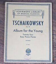 Schirmer's Library of Musical Classics Vol #816 TSCHAIKOWSKY Op.39  Piano