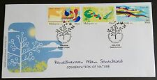 2009 Malaysia Conservation of Nature 3v Stamps FDC (Kuala Lumpur Cancellation)