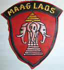 MAAG LAOS - Three Elephants Patch - CIA Ops Ops - 1960s - Vietnam War - 0400