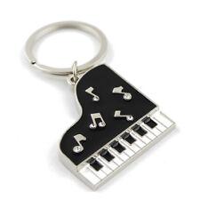 Piano Model Keychain KeyRing Unisex Pendant Gift Present  Creative