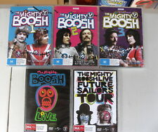 The Mighty Boosh - Series 1 2 3 + Sailors + Live DVD (10 discs) Complete - VGC+