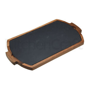 KitchenCraft Artesa Combination Serving Board/Tray Cheese/Bread/Meats/olives