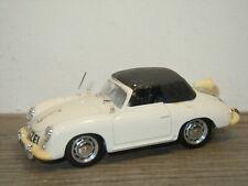 Porsche 356 Convertible (Closed Roof) Polizei - Brumm Italy 1:43 *37057