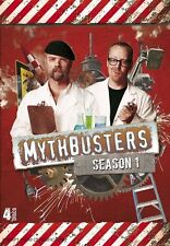 Mythbusters : Season 1 (DVD, 2010, 4-Disc Set) Region Special Interest Used VGC