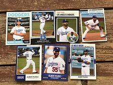 ALBERT PUJOLS 2021 Los Angeles DODGERS Free Agent Baseball ** Pick a Card **