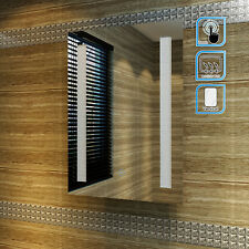 LED Illuminated Bathroom Mirror IP44 Demister Sensor Touch FREE DEL 500 x 700mm